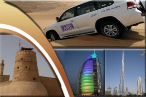 COMBO TOURS : DUBAI CITY TOUR + ABU DHABI CITY TOUR + DESERT SAFARI