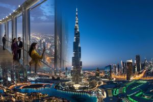 BURJ KHALIFA AT THE TOP TICKET