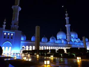 Private Tour durch die große Moschee von Abu Dhabi Sheikh Zayed