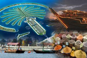 TOUR COMPLET DES Emirats Arabes Unis - EMIRATES TOURS - CULTURE ET PATRIMOINE DE 6 EMIRATS EN UNE JOURNEE