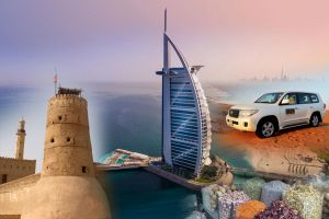 DUBAI CITY TOUR AND DESERT SAFARI COMBO