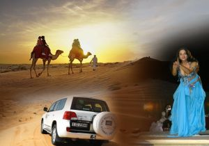 DESERT SAFARI DUBAI WITH BBQ DINNER, SHOWS, CAMEL RIDE