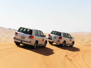 MORNING DESERT SAFARI DUBAI, CAMEL RIDE, SAND SKI WITH REFRESHMENTS