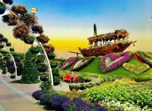 MIRACLE GARDEN ENTRY TICKET + TRANSFERS