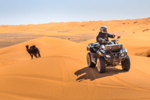 QUADBIKING IN DUBAI DESERT - ONE HOUR ATV RIDE